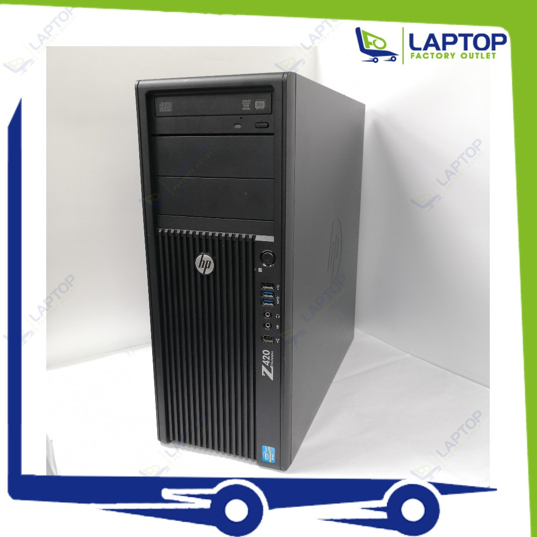 HP Z420 Workstation (Xeon/32GB/500GB) [Preowned] *MEMBER