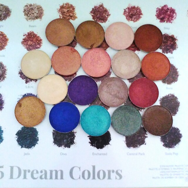 Free postage if you buy all of them Jaclyn hill eyeshadows