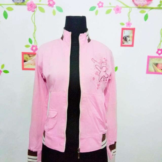 Jaket Dadung Pink