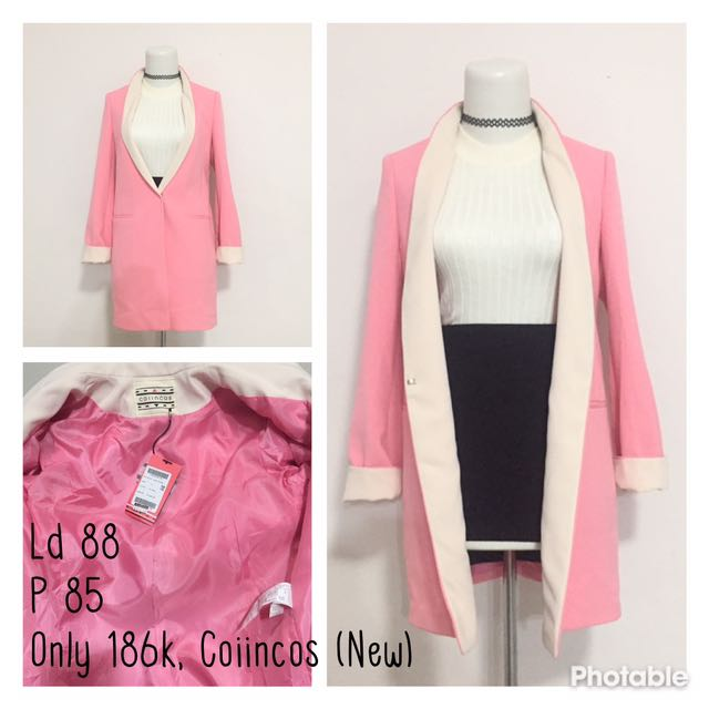 Jas Blazer Pink Premium Korea Import