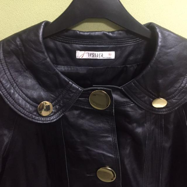 JESSICA Genuine Leather Jacket