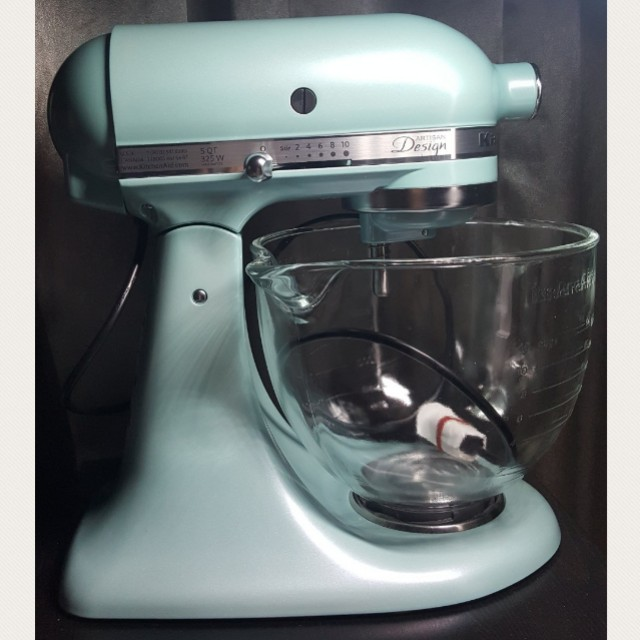 Kitchenaid Azure Blue Mixer Martinique