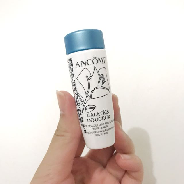 Lancome Galateis Douceur Gentle Softening Cleansing Fluid Face and Eyes