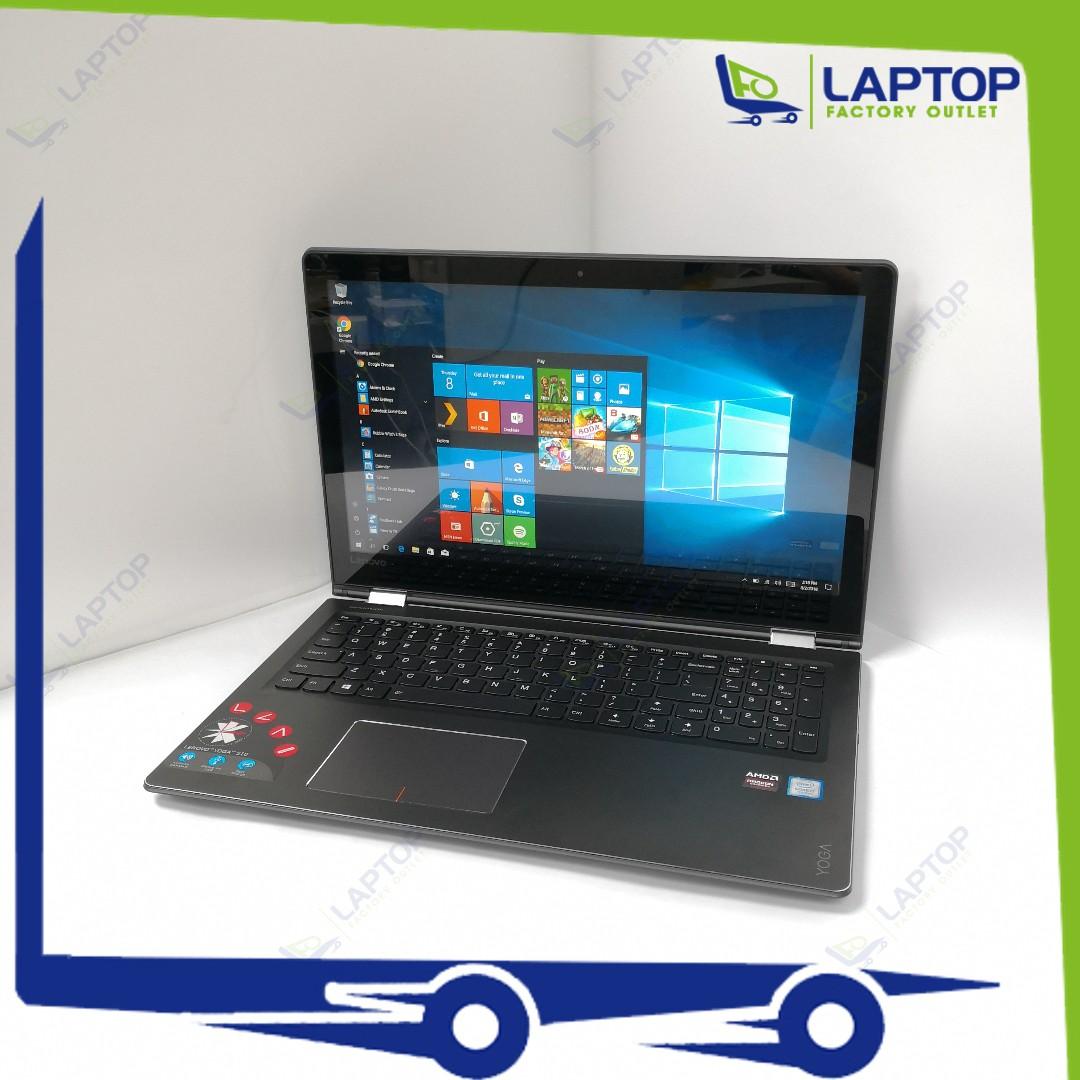 LENOVO Yoga 510-15IKB Touch Screen (i7-7/8GB/500GB) [Preowned]