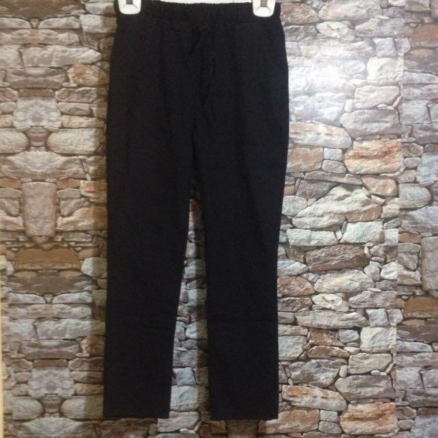 Linen Office Casual Pants