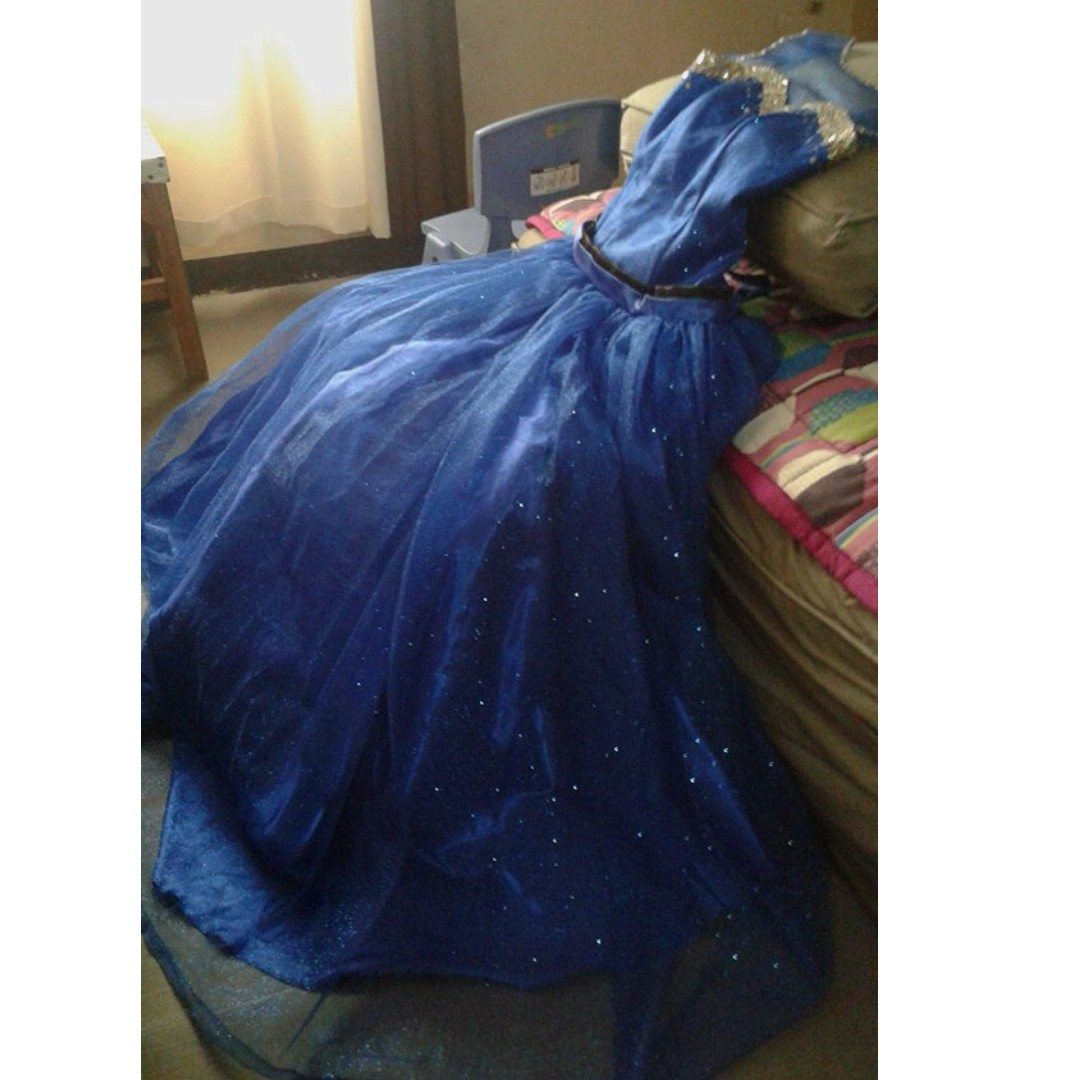JS prom/Graduation ball Long Gown Royal Blue FOR RENT/SALE, Preloved ...