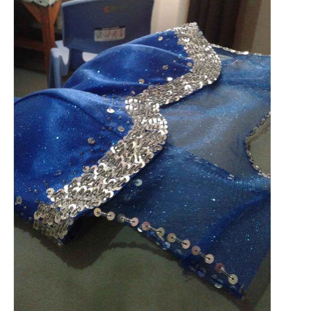 JS prom/Graduation ball Long Gown Royal Blue FOR RENT/SALE