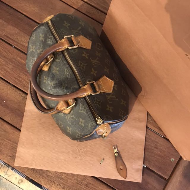 Louis Vuitton Speedy 25 moving need gone!