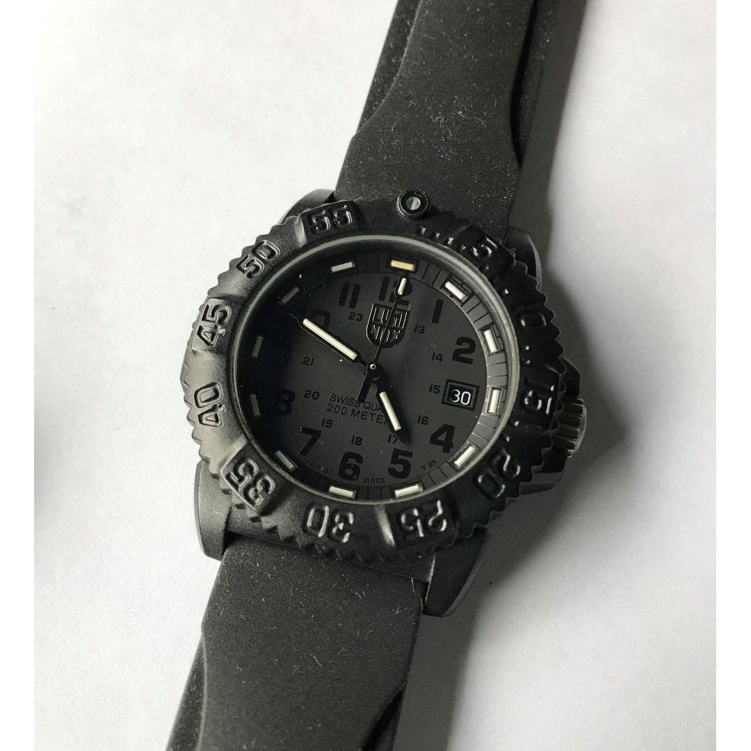 Luminox Women s Navy SEAL Colormark Watch (Blackout) 7aaaf30cd