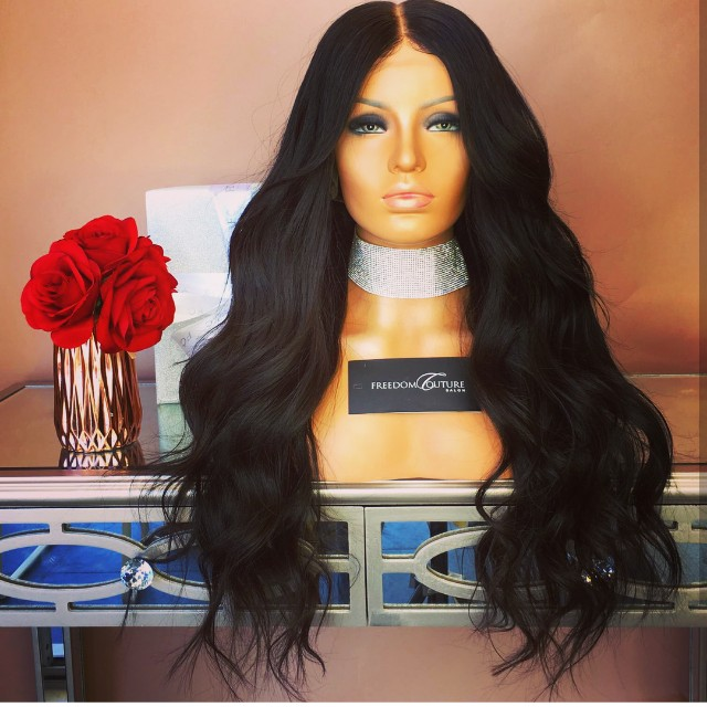 Luxury handmade wig from Freedom couture