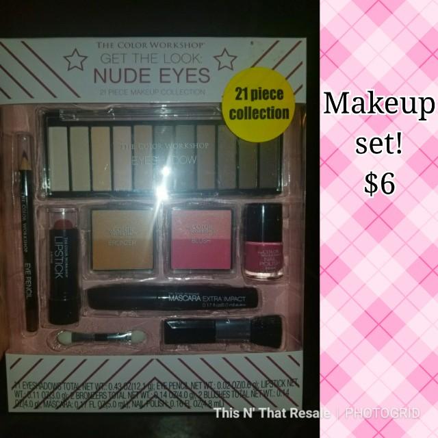 Makeup set & nailpolish set