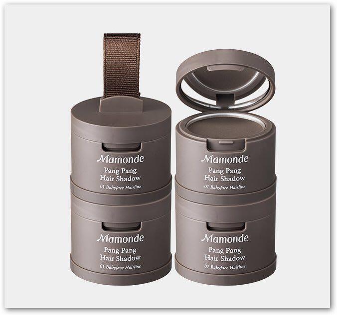 Mamonde 最新款 2017 髮線修飾陰影粉 粉撲 髮際線粉撲 hair shadow Pang pang (1號/2號)