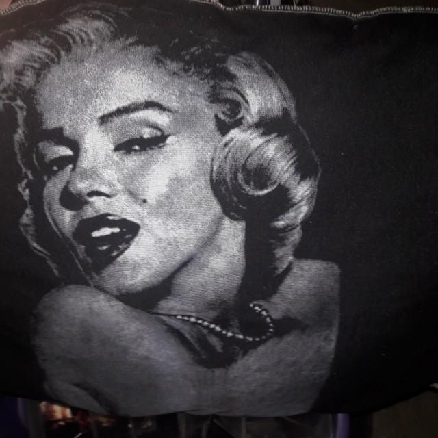 Marilyn Monroe pillow