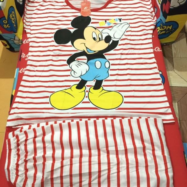 Mickey Mouse red padjama for adult