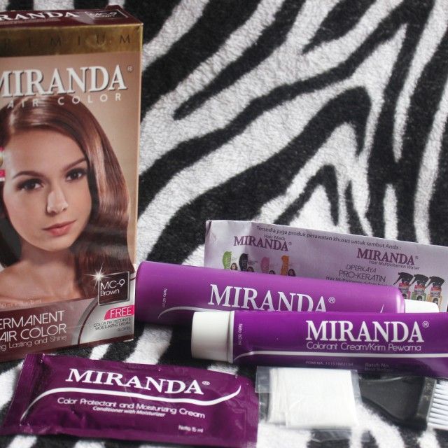 Miranda Hair Colour