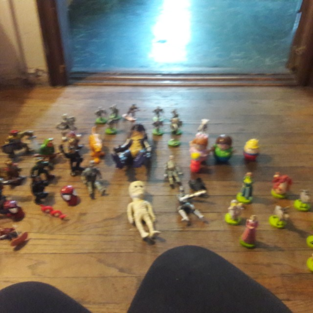 More vintage toys,  about 50 toys