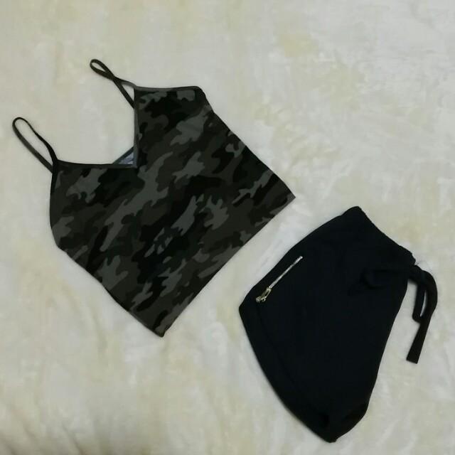 Nadine Top Camouflage