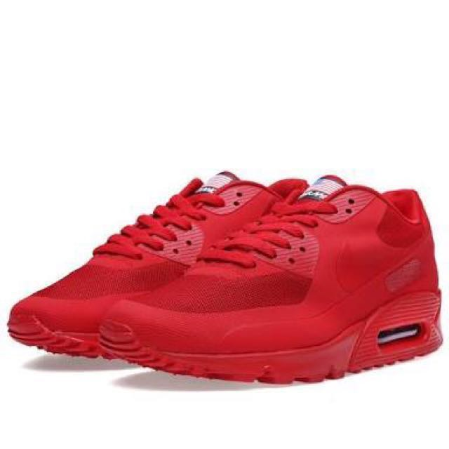 d3b7182cf58 Nike Air Max 90 Independence Day Red October Size 9.5
