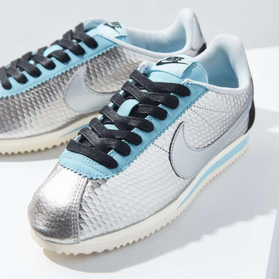 the best attitude d40c7 16d4d Nike Cortez for Women - Smooth Silver & Tiffany (Limited ...