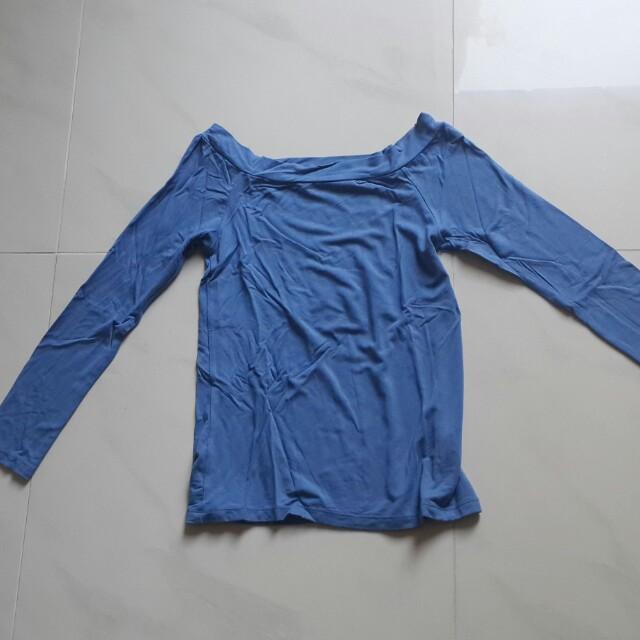 Off-shoulder bodycon top