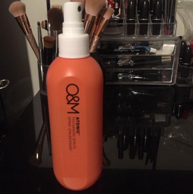 O&M thickening spritz