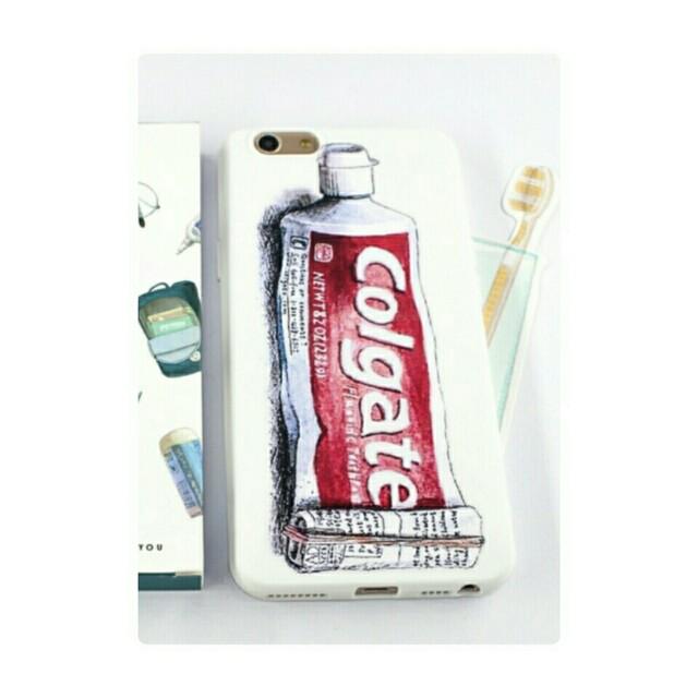 Oppo A77/A57 手繪感牙膏手機軟殼