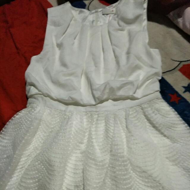 Orig.bread & Butter White Dress
