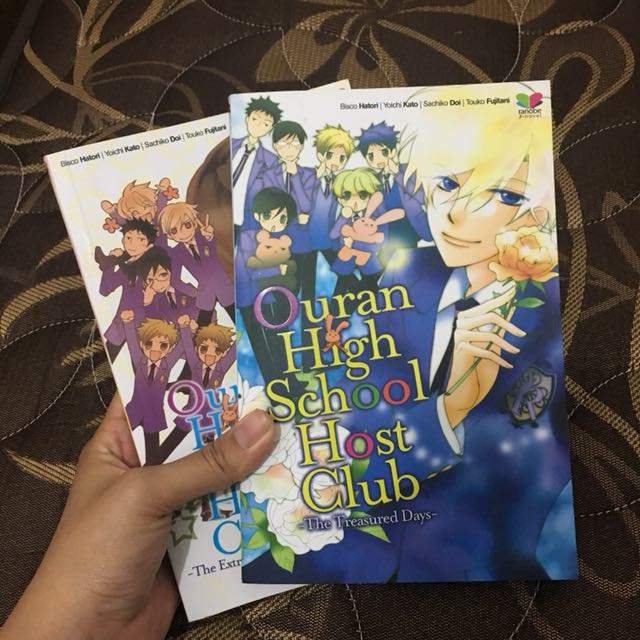 Ouran High School Novel