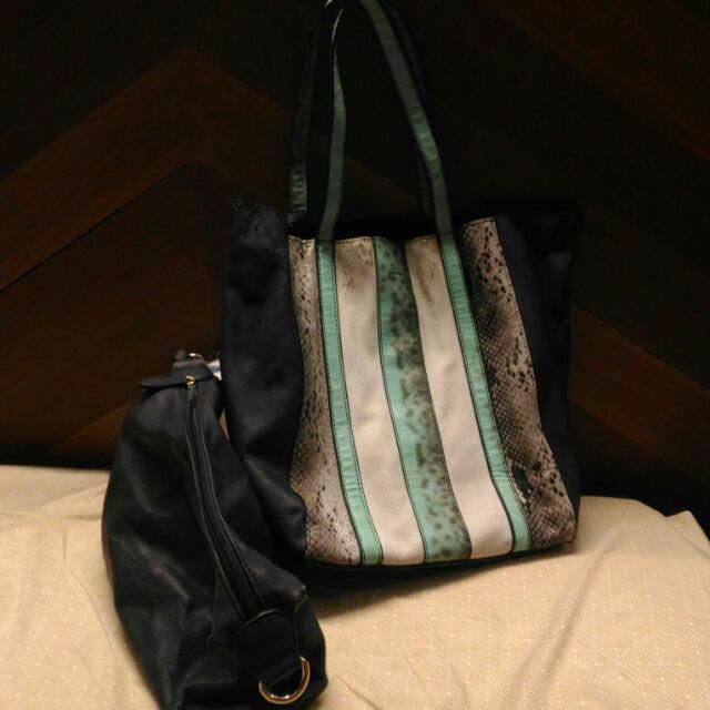 Parfois Bag With Big Pouch Inside