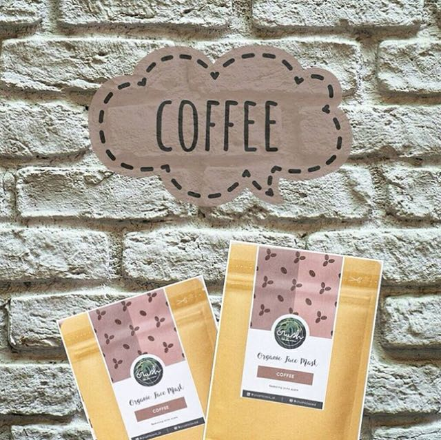 PO coffee organic facemask