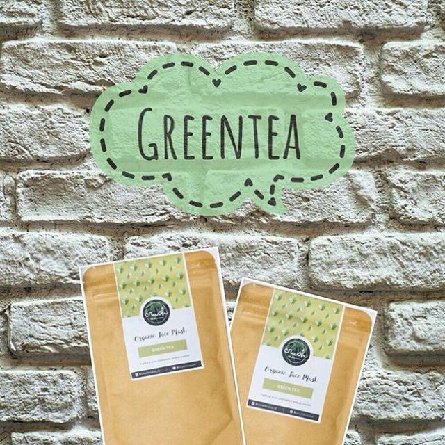 PO greentea organik facemask