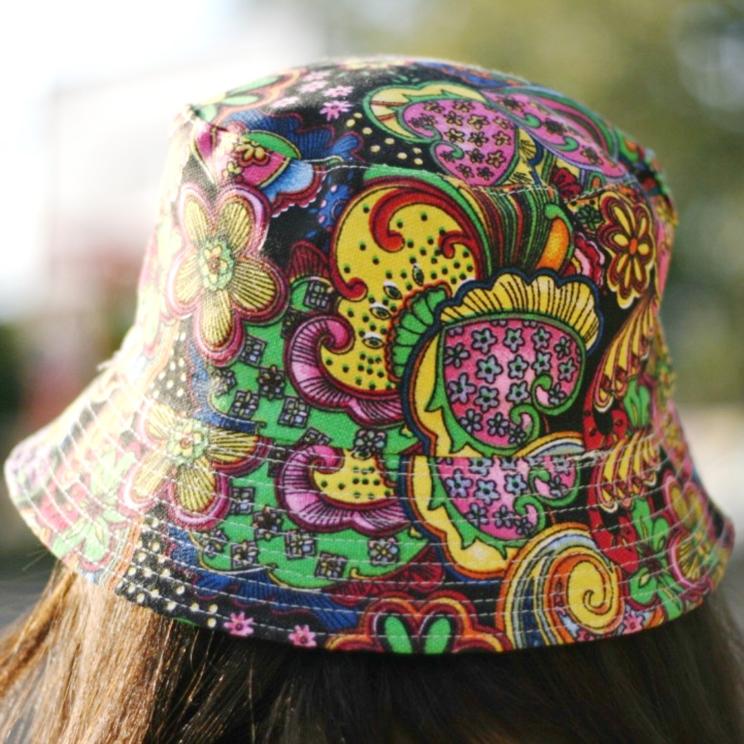 0f601fb32e7 Psychedelic Bucket Hat - Free Delivery.