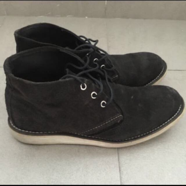 RED WING SHOES 3147 Work Chukka Black
