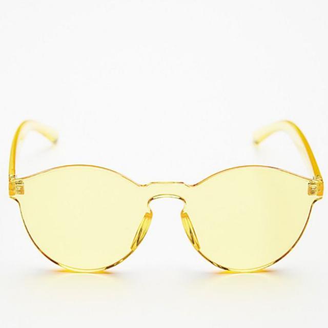 cd8b162615 Retro Yellow Tinted Sunglasses