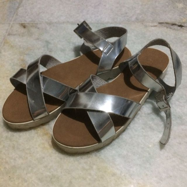 Rubi Hologram Sandals