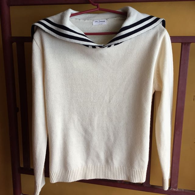 Sailor Knit Pullover