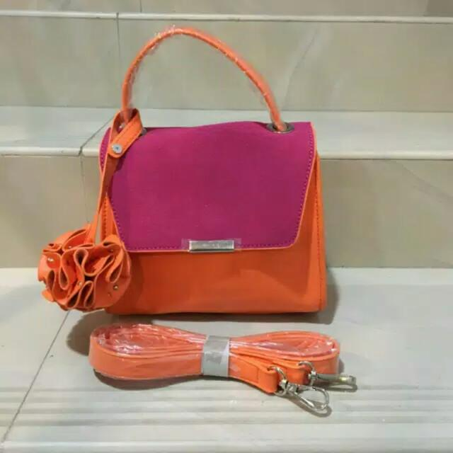 SALE MURAH!!! ZARA ORANGE SLING BAG