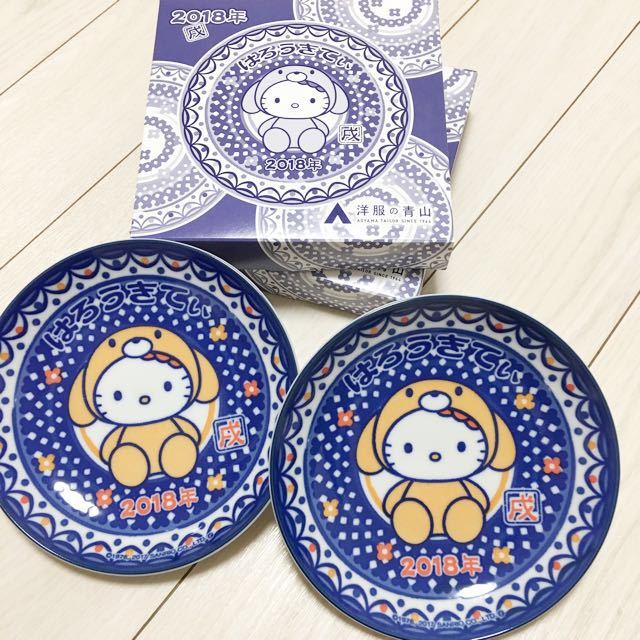 60a7eac07 Sanrio hello kitty Glass plate, Home Appliances on Carousell