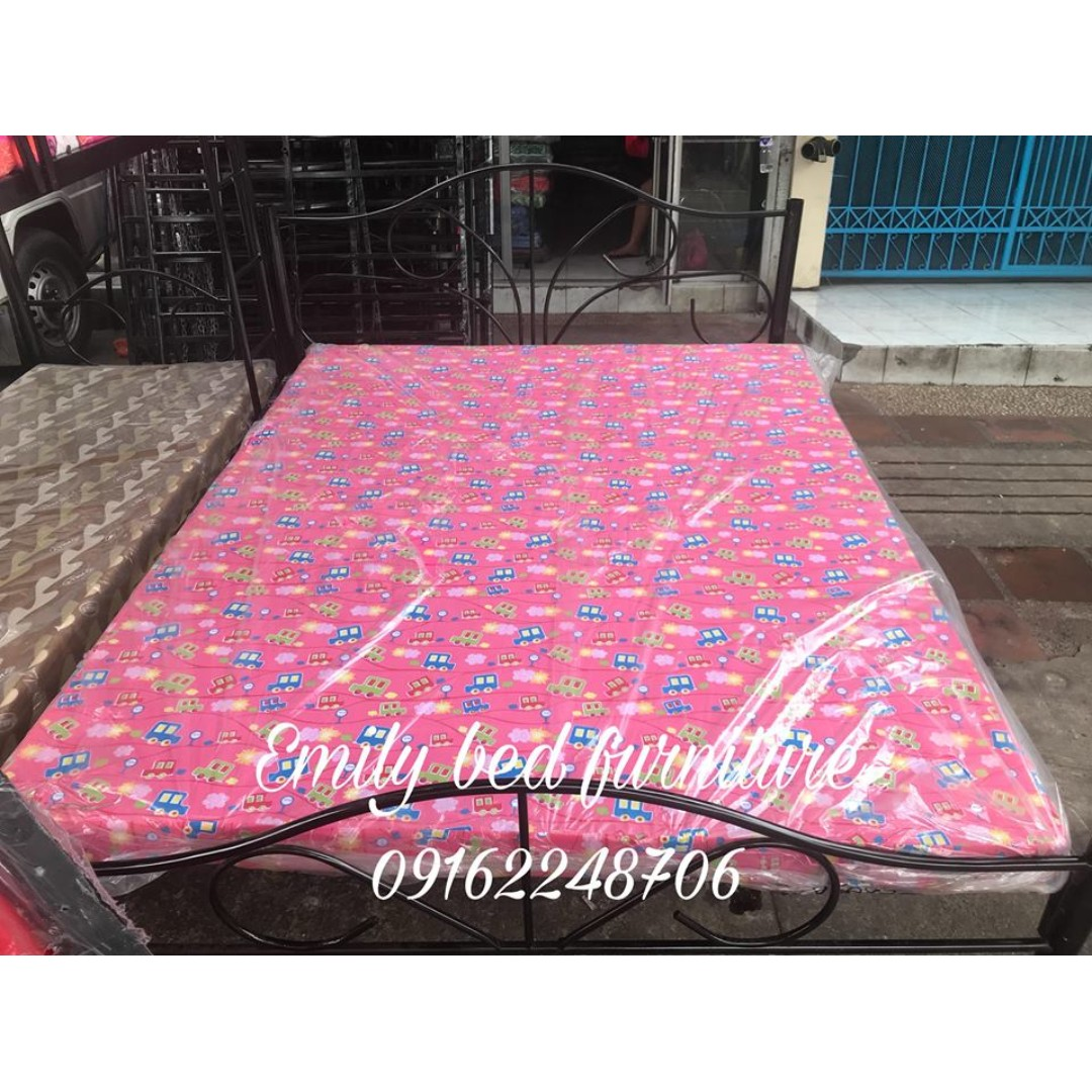 single bed queensize with branded foam