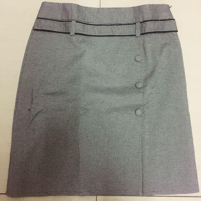 Skirt : Formal Grey