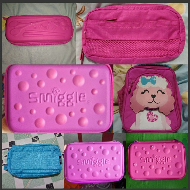 Smiggle Pencil Case/ Lunch Bag