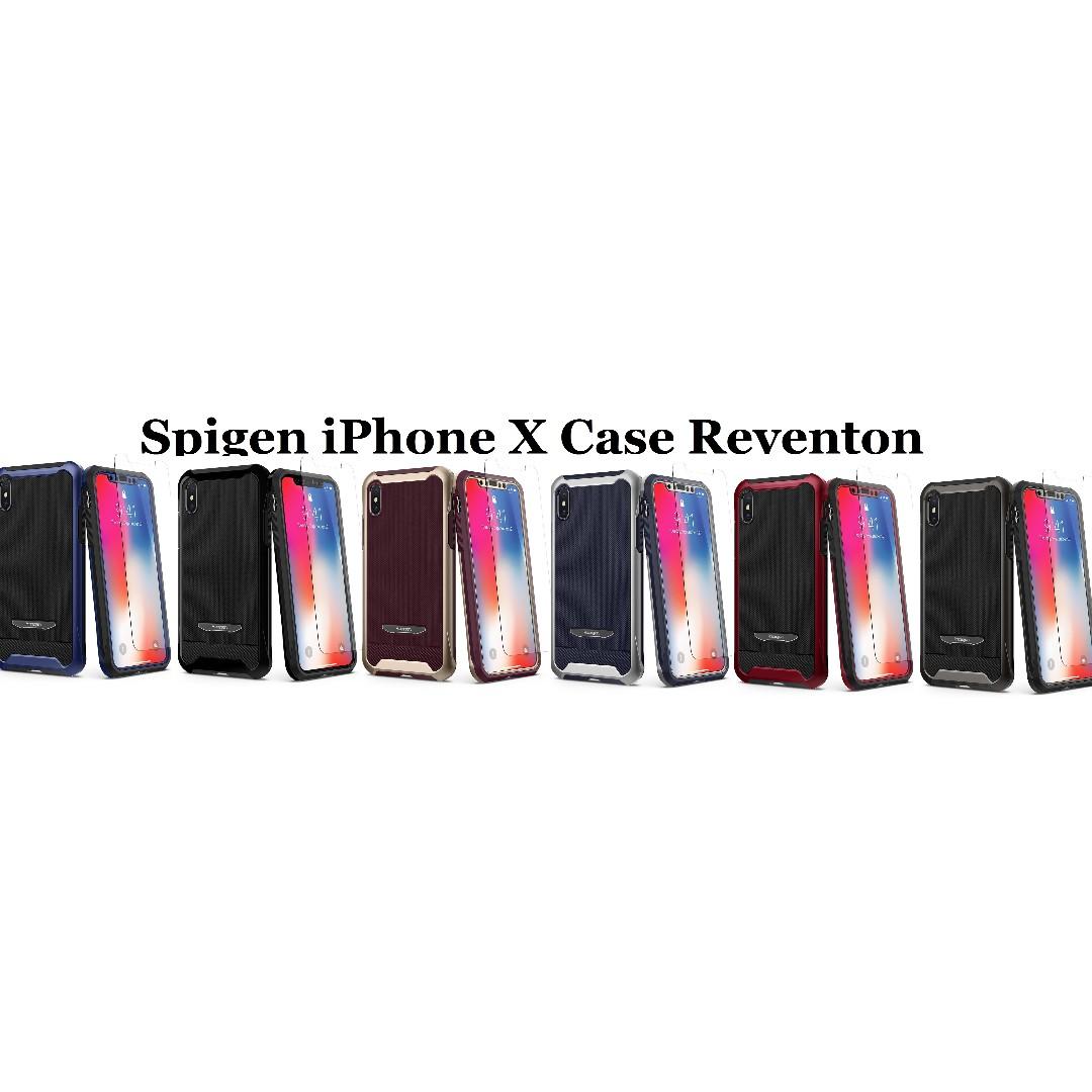 release date: c23da 1424b Spigen iPhone X Case Reventon