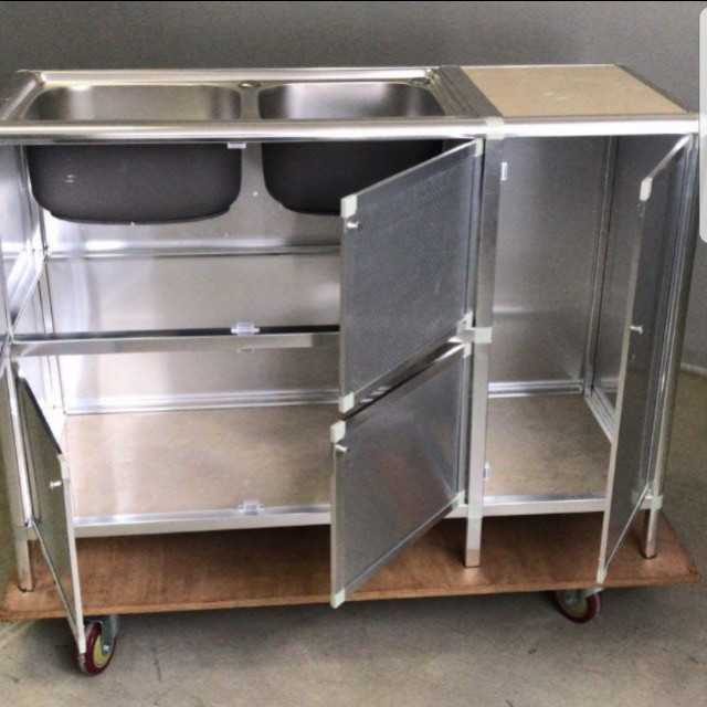 Stainless Steel Kitchen Cabinet With Sink Home Appliances On Carousell