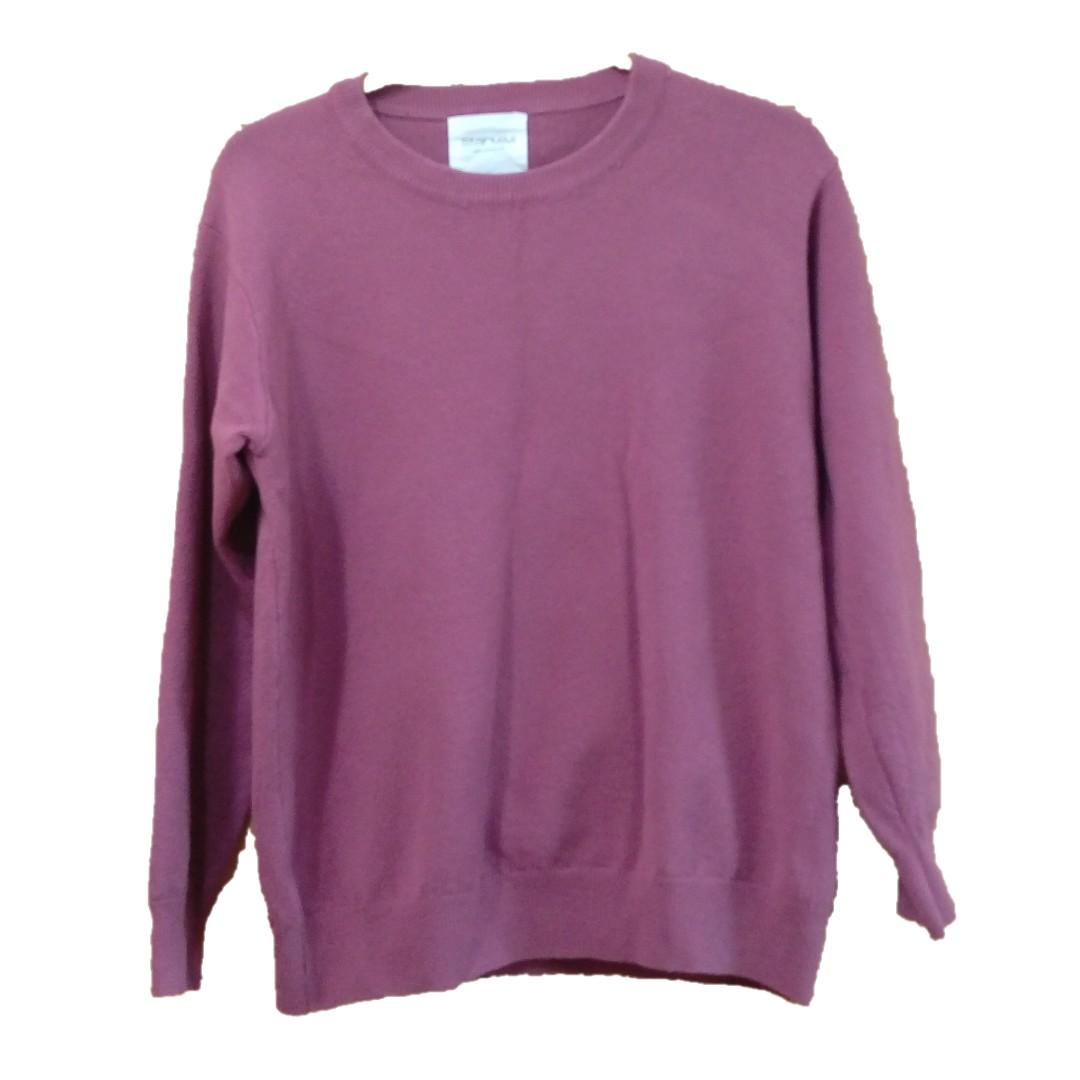 starmimi 玫紅色紫紅色針織毛衣
