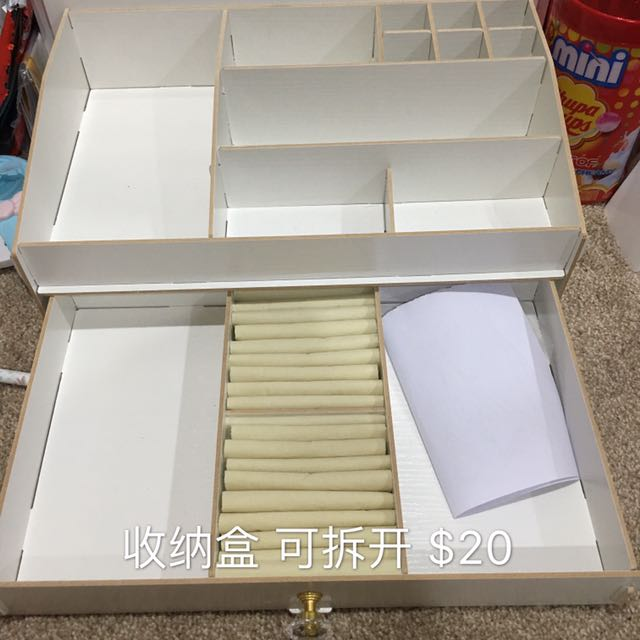 storage box for makeup and jewellery
