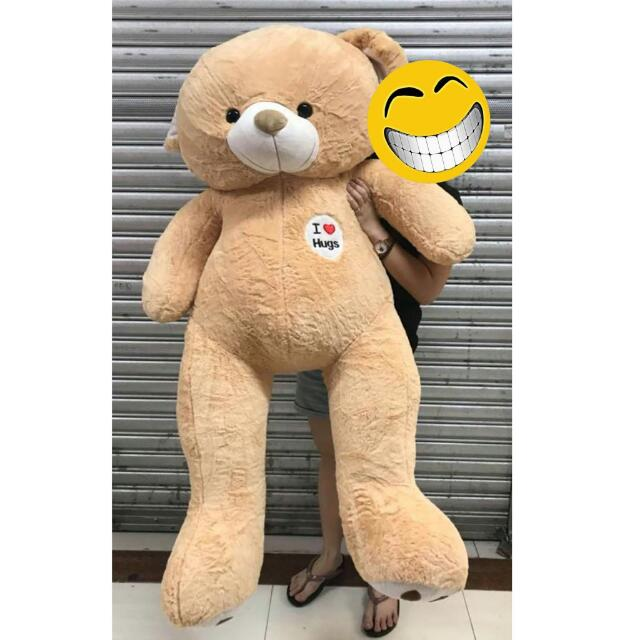 Teddy Bear Life Size Valentines Surprise Gift