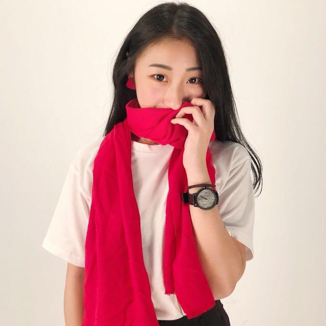 Tooler萬能工具人 年終特售素色質感圍巾🧣