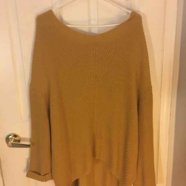 Urban Outfitters Mustard Sweater