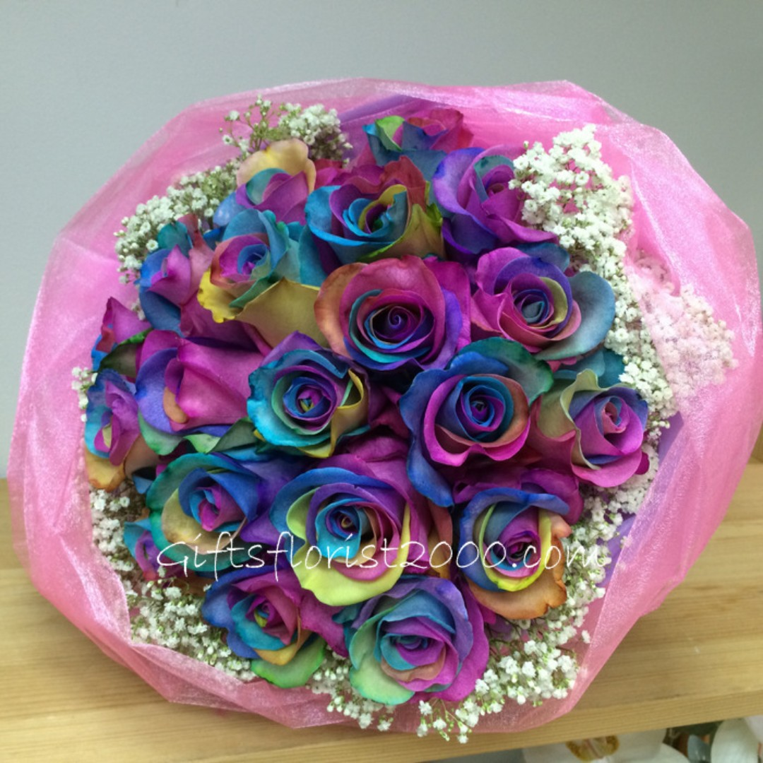 Valentine's Day 2018 Collection: Rainbow Rose