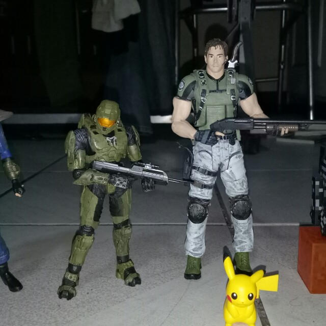 Video Game Action Figures